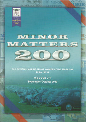 Minor Matters goes past 200 mark