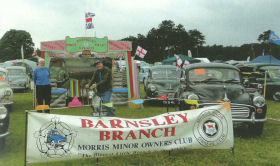 Barnsley Branch wins best branch at National MMOC